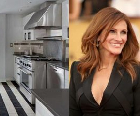 les stars et leur cuisine le bon cuisiniste. Black Bedroom Furniture Sets. Home Design Ideas