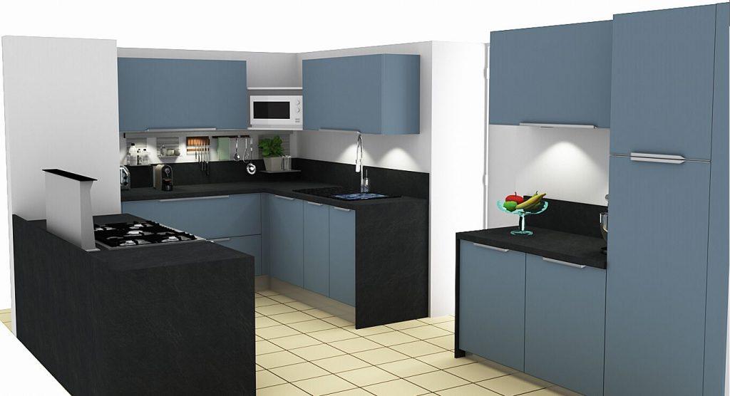 les 1ers plans de cuisines en 3d n es d 39 une rencontre sur le bon cuisiniste le bon cuisiniste. Black Bedroom Furniture Sets. Home Design Ideas