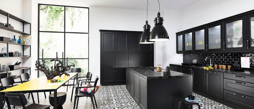le-bon-cuisiniste-coloris noir-nolte kitchen