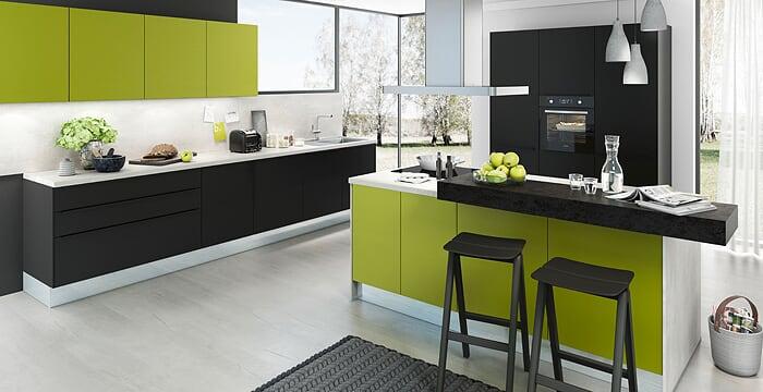le-bon-cuisiniste-couleur-verte-gaggenau